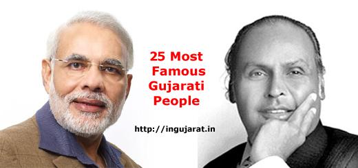 25 Most Famous Gujarati People - inGujarat.in
