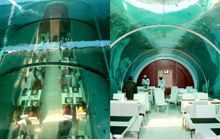 india s first underwater restaurant comes up in ahmedabad ingujarat in